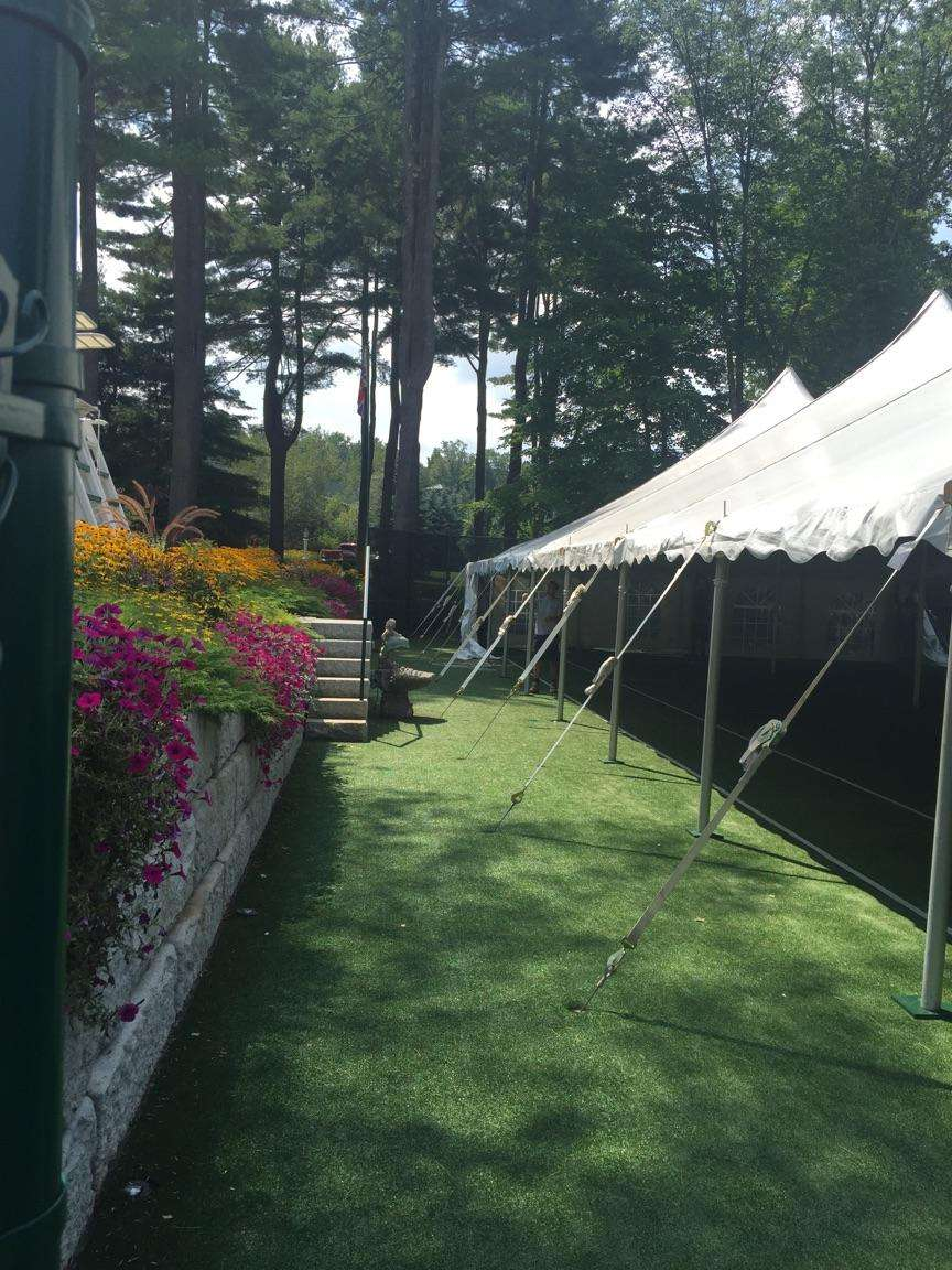 michaels party rentals blog archive tented tennis court