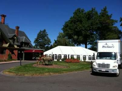 Tented Wedding at Barney Estate in Forest Park