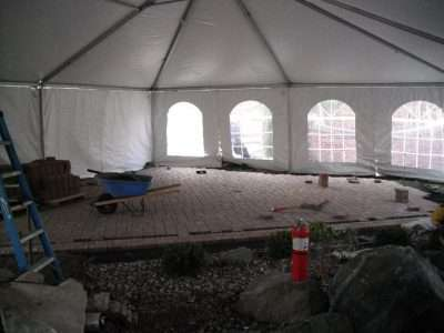 Construction tent / winter tent
