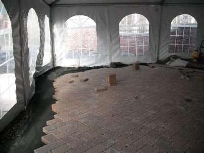 Construction tent / winter tent