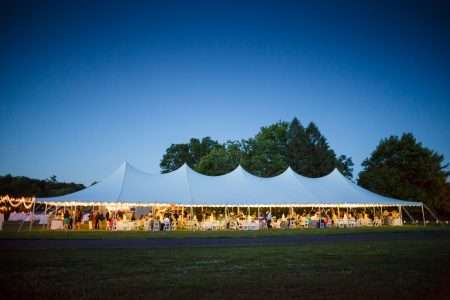 Tented wedding Suffield CT