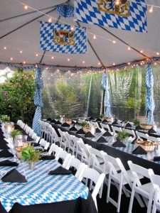 Oktoberfest party decor
