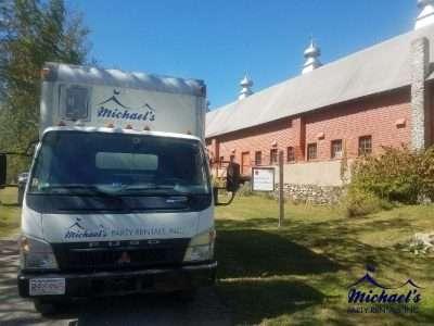 Quonquont Farm wedding rentals
