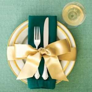 Holiday Napkin Fold- Napkin Rental
