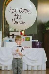 Balloon decor at a wedding. Helium tank rentals western MA