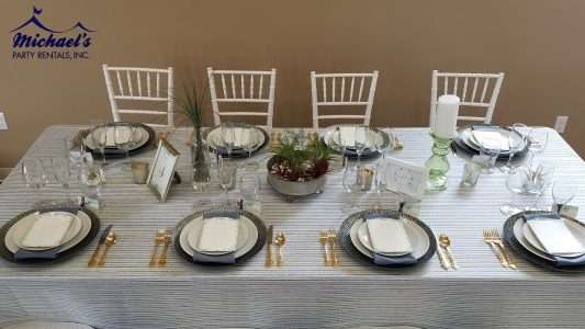 pring inspired tablescape designed by Events by Jackie M. Wedding rentals western MA