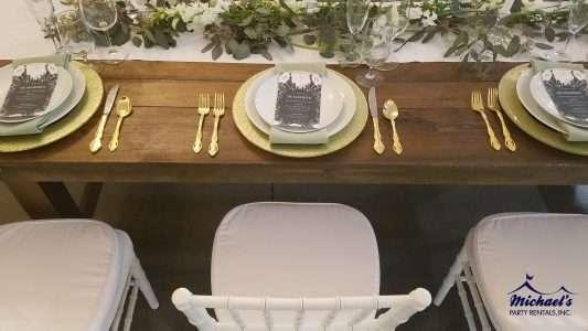 Wedding and farm table rentals near Springfield, MA
