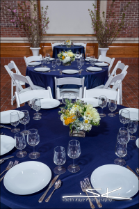White Padded Garden Chair and Party Rentals: Springfield Museum