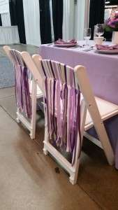 White Padded Garden Chair and Party Rentals Springfield MA