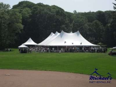 Commencement tent rental western MA