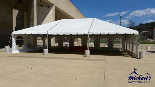 Umass tent rental western MA