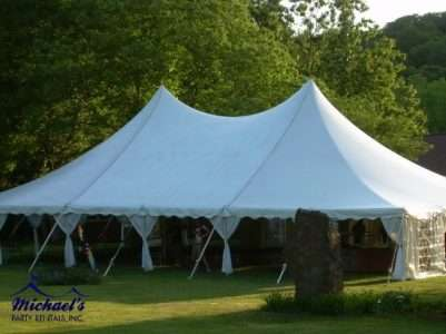 wedding tent rental western MA