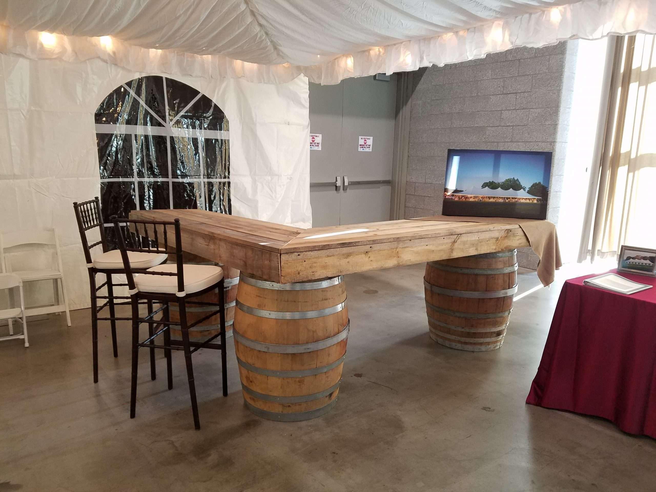 Reclaimed Barn Wood Bar