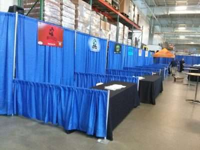 Pipe and drape vendor fair