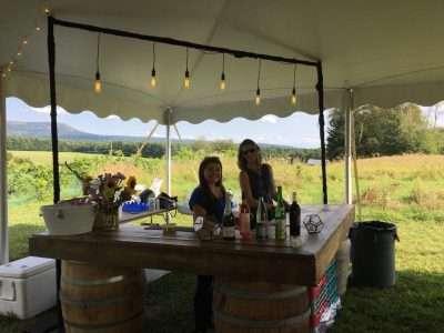 reclaim barnwood wine barrel bar