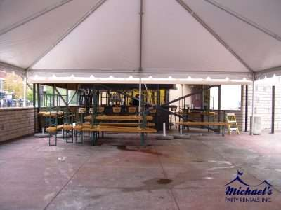 tent rentals for beer garden in chicopee ma
