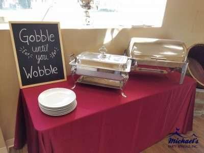 Chafing dish rentals western ma