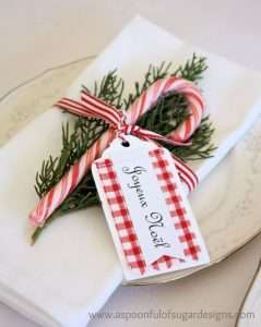 Holiday Napkin Fold- Napkin Rental