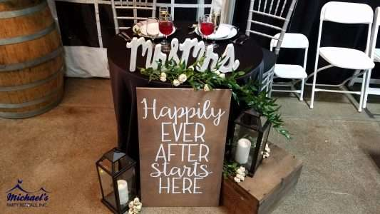 Wedding and chiavari chair rentals Springfield MA